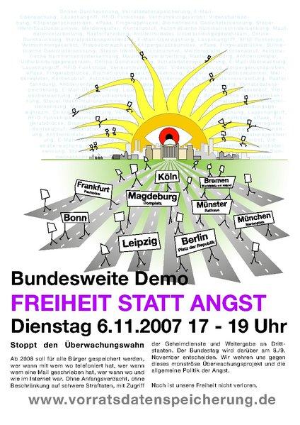Kundgebungen am 6.11.2007!