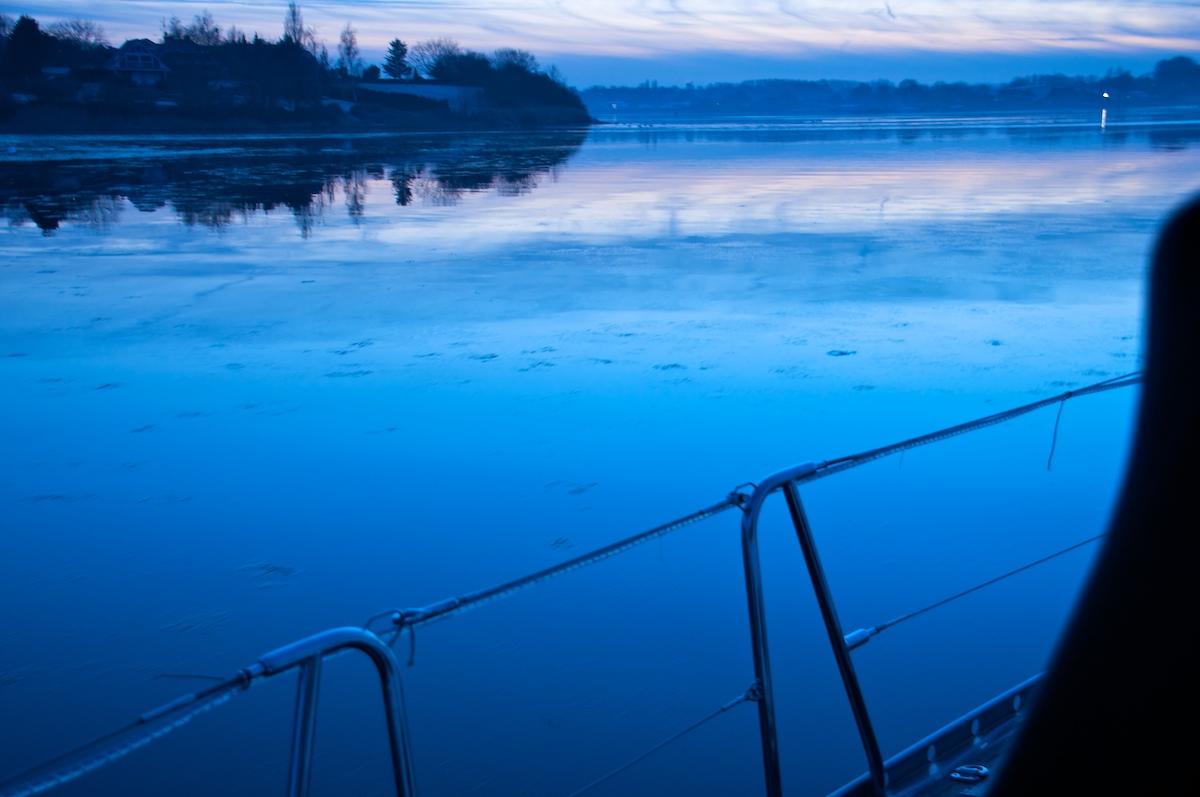 Kleine Eisbildung auf unserem Nordmeer ;-)