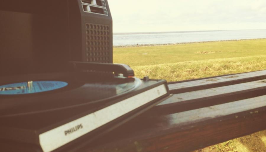 Vinyl am Deich.